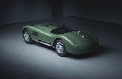 Stellen Sie Ihre eigene Jaguar C-TYP-Fortsetzung zusammen